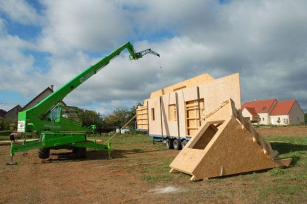 Construction neuve et ossature en bois dijon 21 for Construction bois 21